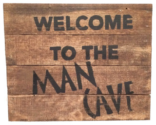 Quot Welcome To The Man Cave Quot Sign Rustic Game Room Wall