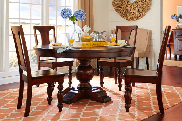 traditional dining room houston by gallery furniture