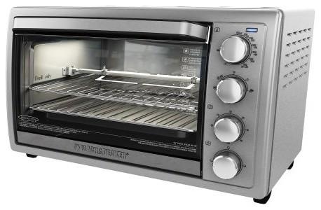 Black Decker 9 Slice Rotis Convec Oven - Modern - Toaster Ovens - by BuilderDepot, Inc.