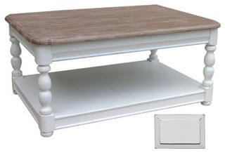Coastal Style Newport Coffee Table Grey Traditional Coffee Tables By Custom Furniture World