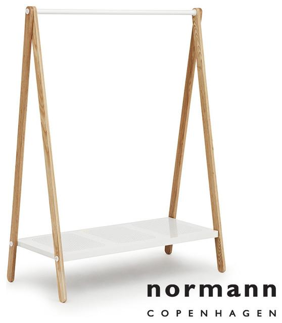 Normann Copenhagen Toj Clothes Rack Large White - Modern ...