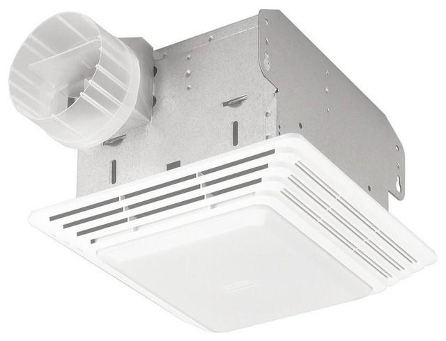 50 CFM Ceiling Eco Exhaust Bath Fan with Light ...