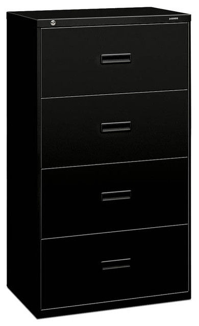 basyx by HON Lateral File - 4 Drawer - Contemporary - Filing Cabinets - by Rulers