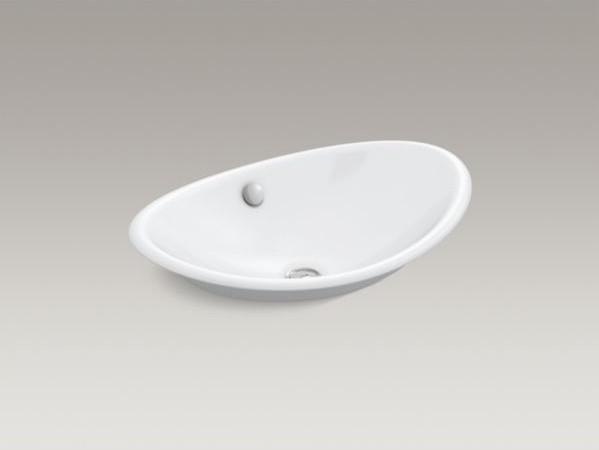 Kohler Iron Plains Tm Wading Pool R Oval Bathroom Sink