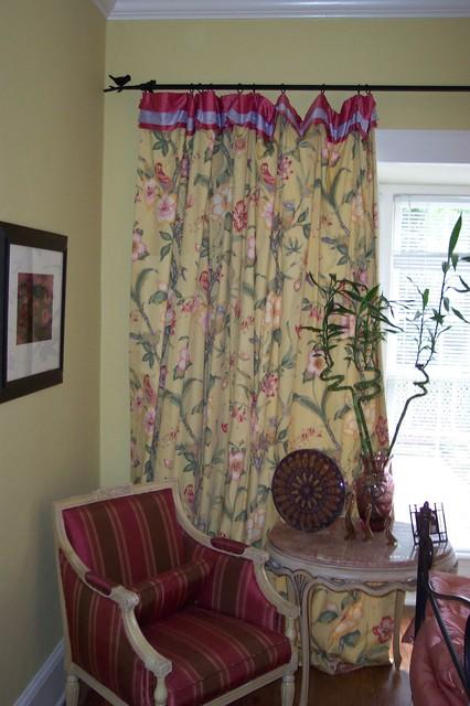 Pamela Foster & Associates, Inc. - Traditional - Curtains ...