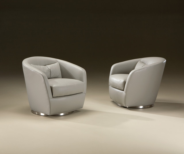 Turn Swivel Chairs From Thayer Coggin Contemporary