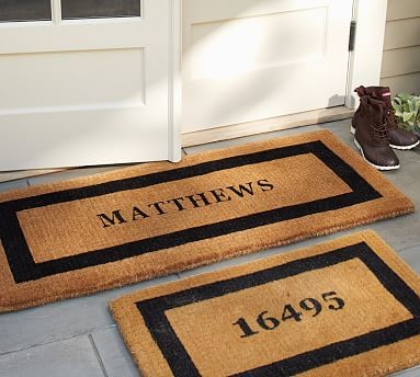Personalized Extra Large Doormat 30 X 48 Quot Espresso