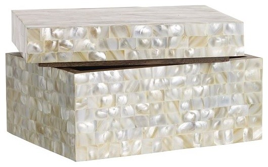 Mother of Pearl Boxes Contemporary Decorative Boxes  : contemporary decorative boxes from www.houzz.com size 530 x 332 jpeg 41kB