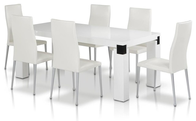 VIG Modrest Escape Dining Table In White Contemporary  : contemporary dining tables from www.houzz.com.au size 640 x 398 jpeg 26kB