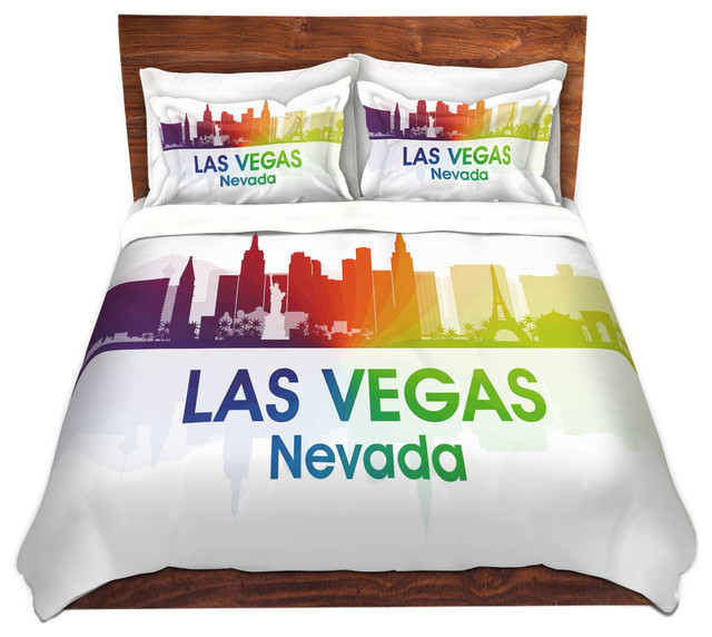 Las Vegas Nevada - Modern - Duvet Covers & Duvet Sets - by DiaNoche