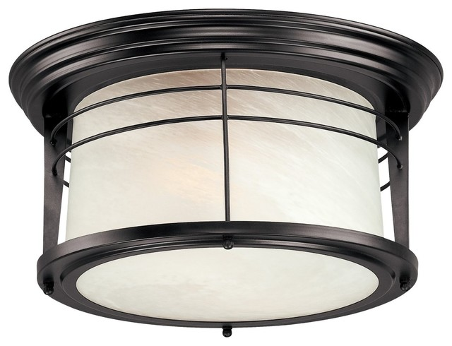 Westinghouse Lighting 66746 Ceiling Light Fixture Indoor Outdoor Weathered