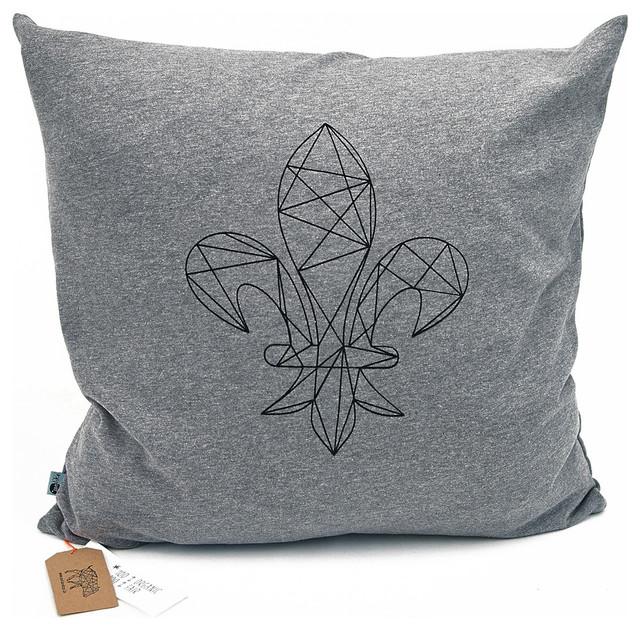kissen organic cotton lilie skandinavisch dekokissen. Black Bedroom Furniture Sets. Home Design Ideas