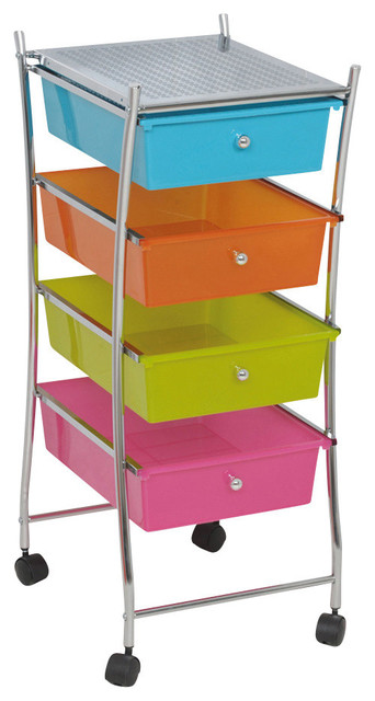 Original Buy Storage Cart With Drawers From Bed Bath Amp Beyond