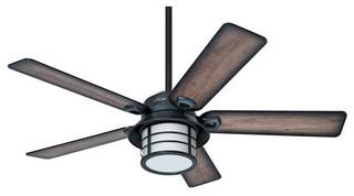 Hunter prestige ceiling fan weathered zinc 54 for Hunter prestige fans
