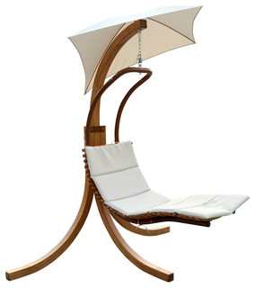 Swing Lounge Chair With Umbrella Contemporary Hammocks