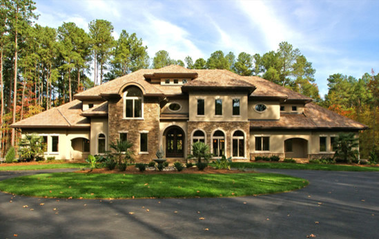 Two story designs 5 000 10 000 square feet raleigh for 10000 square foot home plans