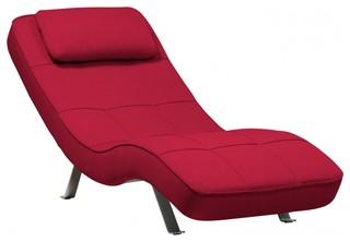 liege long island rot bauhaus look chaiselongues von. Black Bedroom Furniture Sets. Home Design Ideas