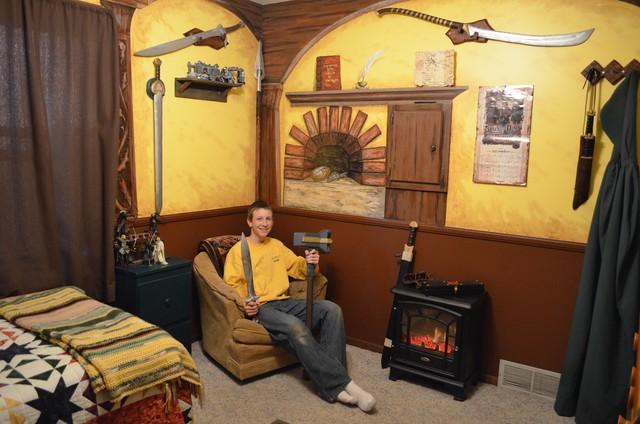 Johnny's Hobbit Hole Room