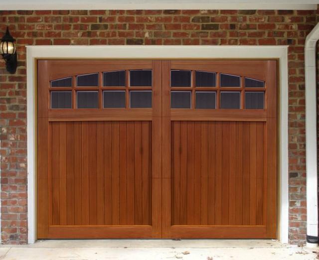 Sunburst Garage Door - Traditional - Garage Doors And Openers - by nicksbuilding.com