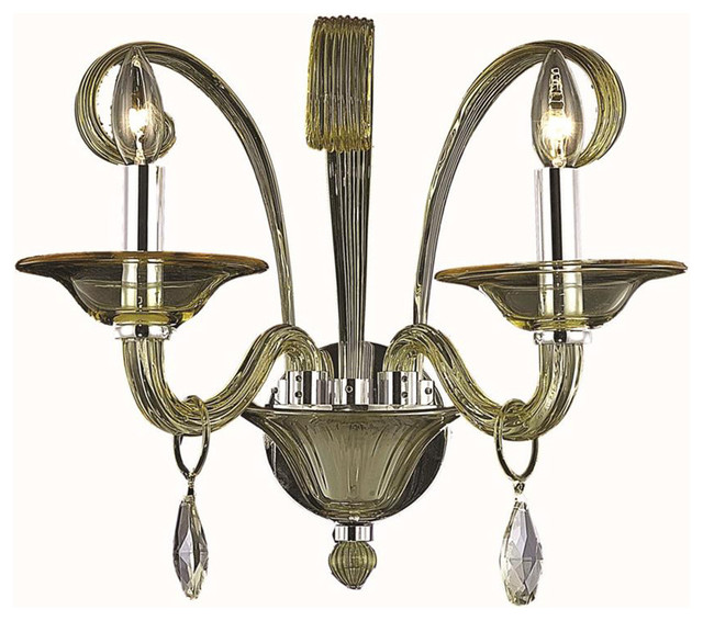 Elegant Lighting 7862W2 Muse Collection Wall Sconce - Transitional - Wall Lighting - by Lighting ...