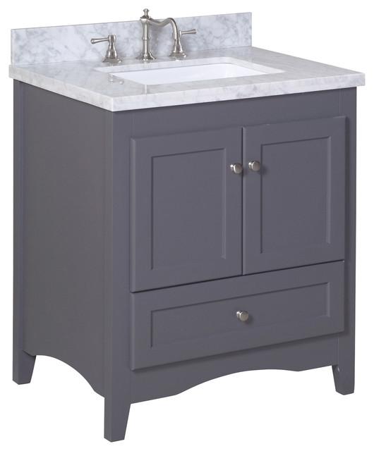 Abbey 30 inch bathroom vanity modern bathroom vanities for Bathroom vanities los angeles