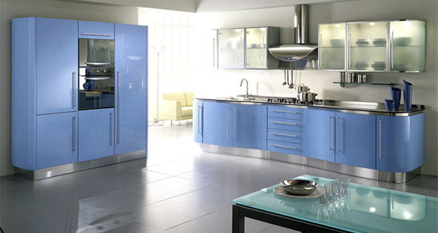 Butterfly Lacquer Kitchen Cabinets by Fiamberti - Modern - Kitchen Cabinetry - chicago - by Gene ...