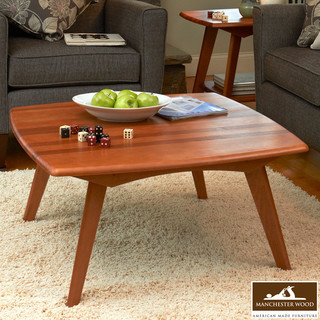 Retro Square Coffee Table by Manchester Wood - Midcentury ...