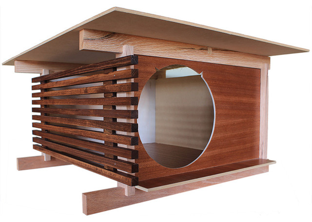 Post And Beam Cat House Modern Cat Furniture Los