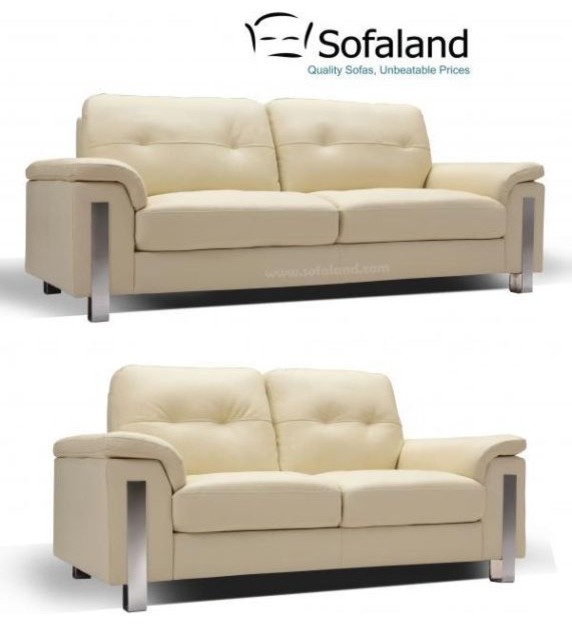 Leather sofa for Sofaland couch