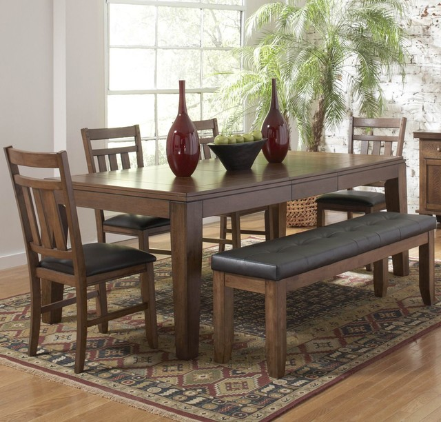 kirtland butterfly leaf dining table in oak contemporary dining tables