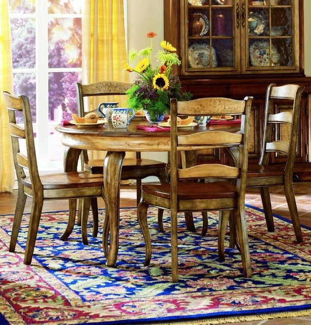 ... Round/Oval Table Dining Set, Hooker Furniture transitional-dining-sets