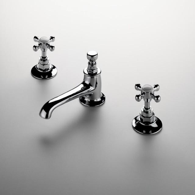 Cross Handle Bathroom Faucets