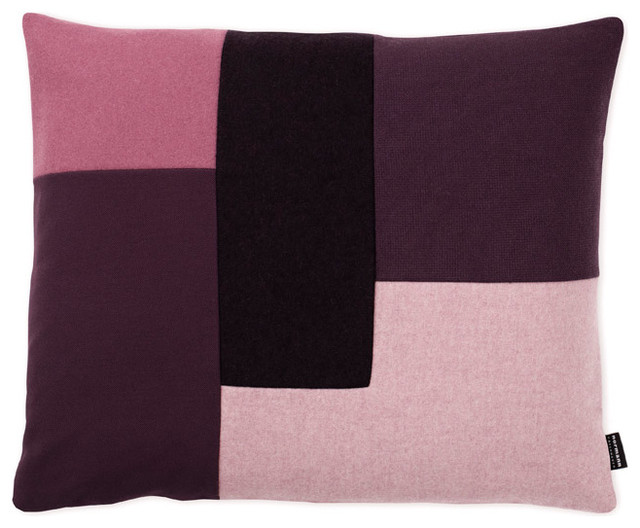 Scandinavian Design Throw Pillows : Brick Kissen Violett Normann Copenhagen - Scandinavian - Decorative Pillows - by found4you