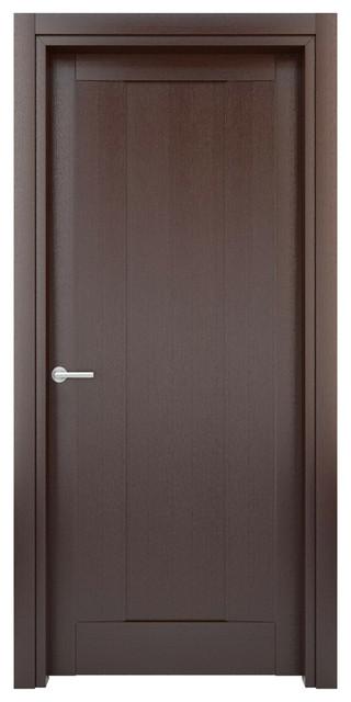 Interior door solid wood construction laminated wenge for 16 x 80 interior door