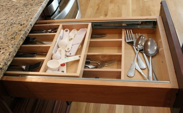 Kitchen storage ideas boston by mary porzelt of boston - Kitchen drawer design ideas ...