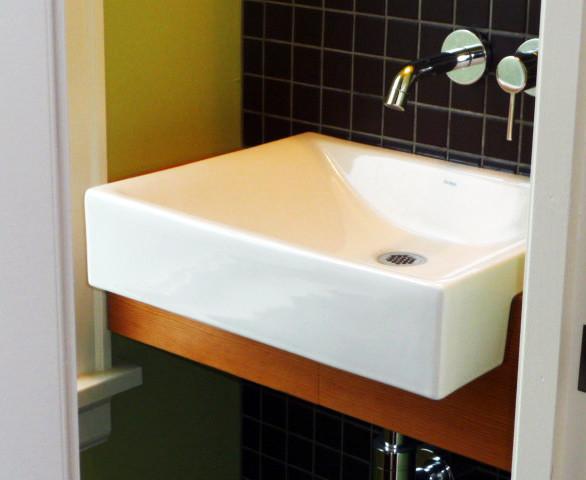 Dormer entry interior remodel ten directions design for Bathroom dormer design