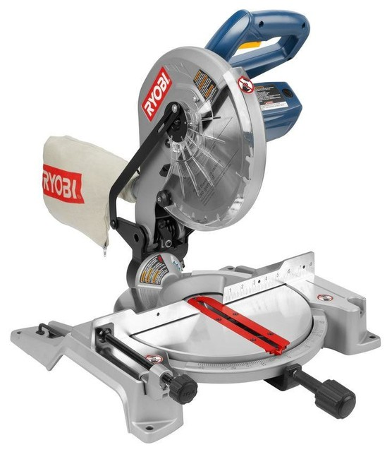 Ryobi 14-Amp 10-Inch Compound Miter Saw - Contemporary - Power Tools ...