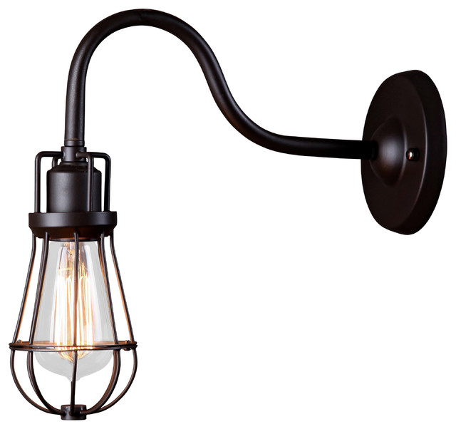 Wall Mounted Industrial Lights : Industrial Inspired FACTORY wall mounted light - Industrial - Wall Lighting