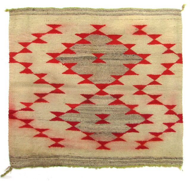 consigned antique navajo bow tie mat southwestern area rugs