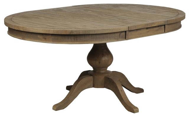 Beckett Round To Oval Dining Table Dining Tables Los Angeles By