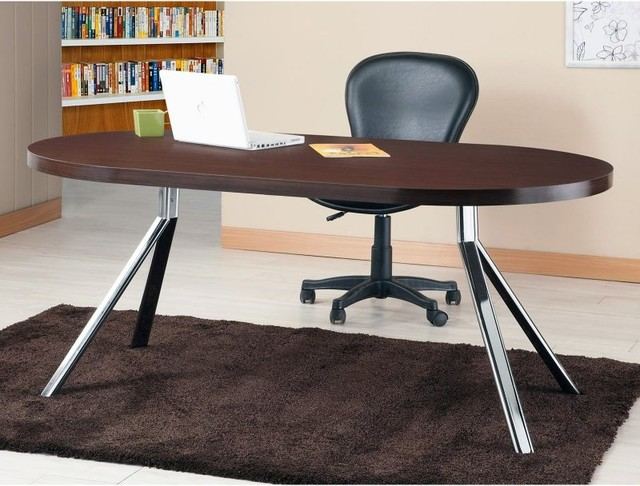 Furniture Of America Trexton Office Desk Ynj Dt4001 A1 Contemporary Dining Tables By