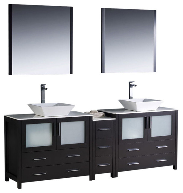 cabinet soana brushed nickel faucet contemporary bathroom vanities