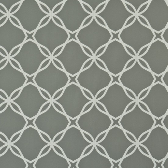Twisted Gray Geometric Lace Wallpaper Sample