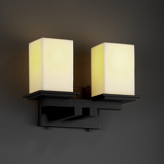 Montana Two Light Square Bath Bar modern-bathroom-vanity-lighting