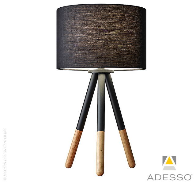 Louise Table Lamp By Adesso Modern Table Lamps Los