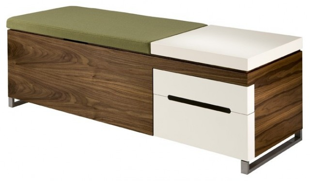 Foyer Bench Modern : Herman miller cognita bench modern accent and storage