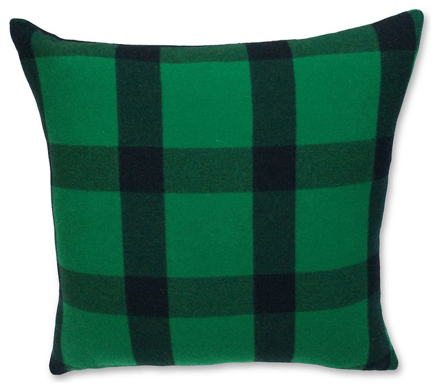 Ralph Lauren Decorative Couch Pillows : Ralph Lauren Plaid Cashmere Pillow - Contemporary - Decorative Pillows