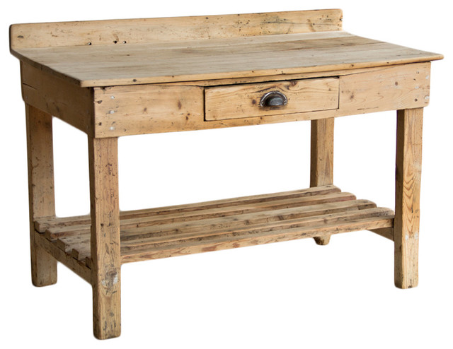 Victorian rustic potting table potting benches calgary - Potting table with storage ...