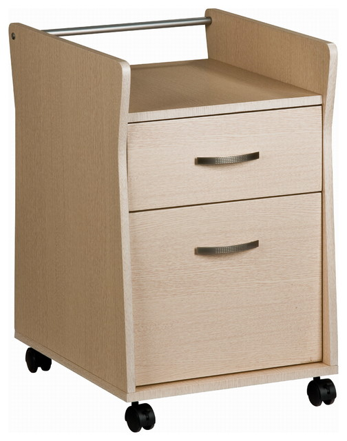 Techni Mobili Rolling File Cabinet Ash - Transitional - Filing Cabinets - by Rta Products- L