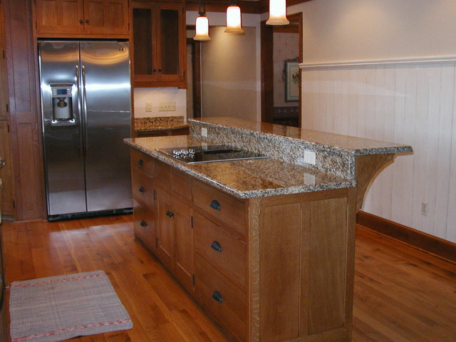 cabinet jobs traditional kitchen islands and kitchen carts milwaukee by schmidt carpentry. Black Bedroom Furniture Sets. Home Design Ideas